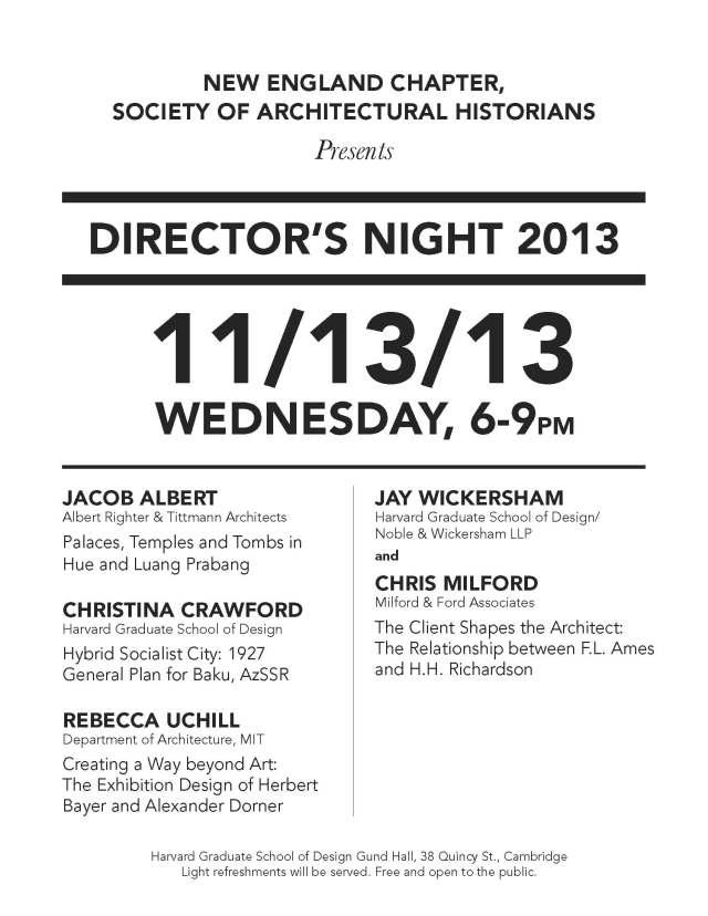 Director's Night 2013