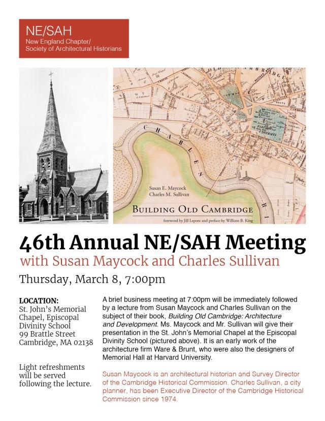 46th ANNUAL NE SAH MEETING